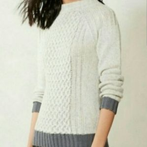 Anthro Sparrow sweater size medium